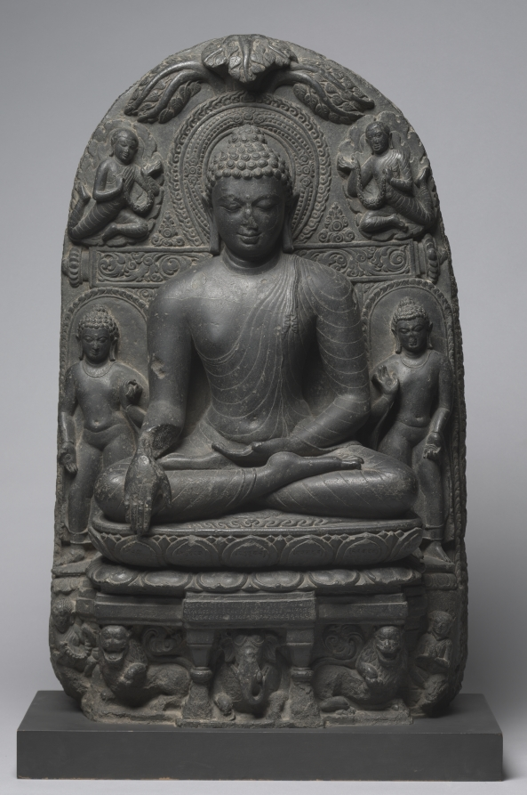 Pala Period (750-1197). Chloritic schist; overall: 94 cm (37 in.). The Cleveland Museum of Art