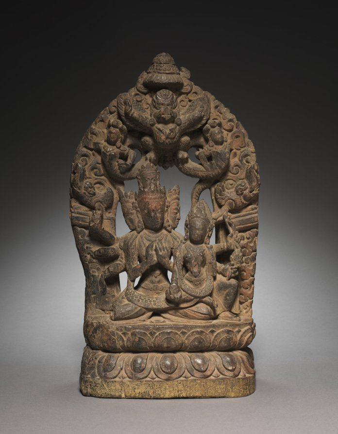 Wood; overall: 45.7 x 25.4 x 12.1 cm (18 x 10 x 4 3/4 in.). The Cleveland Museum of Art
