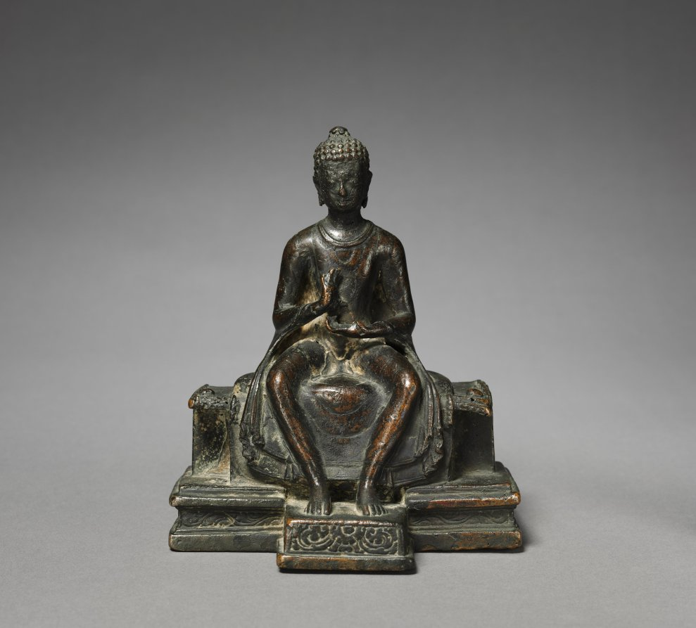 Bronze; overall: 16.4 x 13.3 cm (6 7/16 x 5 1/4 in.). The Cleveland Museum of Art