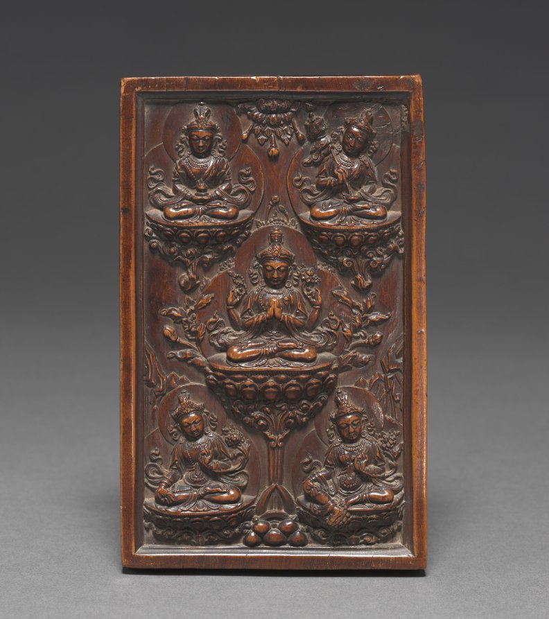 Wood; overall: 14.1 x 8.7 x 2.4 cm (5 9/16 x 3 7/16 x 15/16 in.). The Cleveland Museum of Art