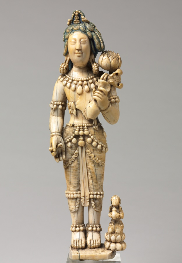 Ivory; overall: 29.2 cm (11 1/2 in.). The Cleveland Museum of Art