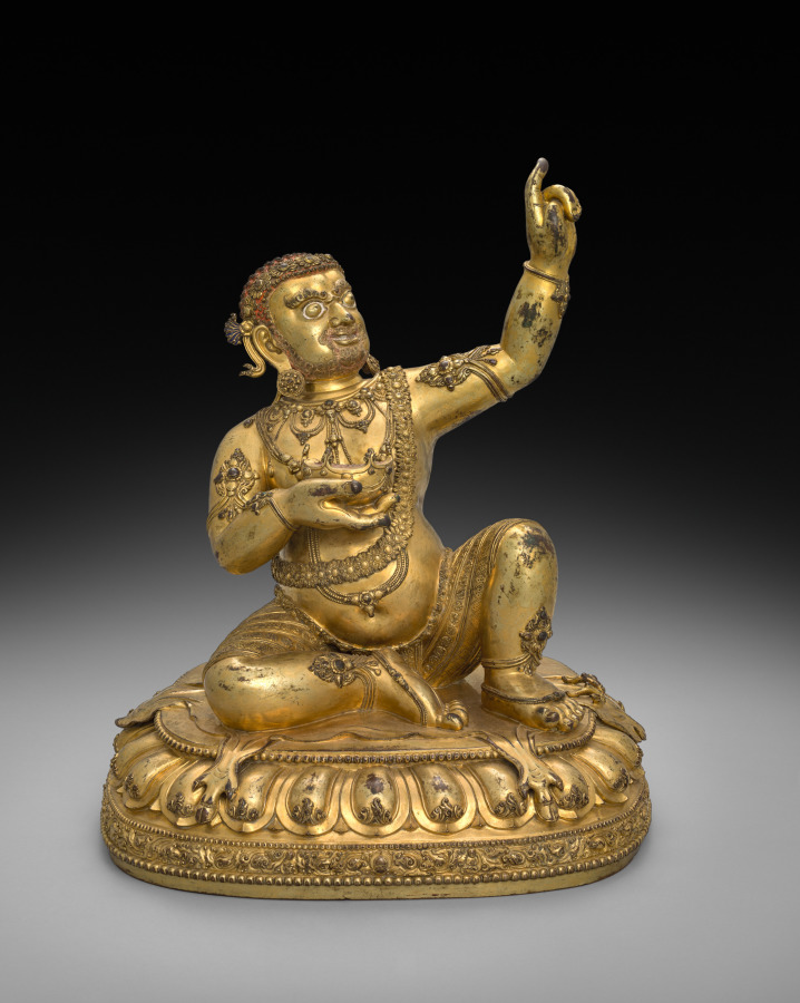 Gilt bronze; overall: 43.6 cm (17 3/16 in.). The Cleveland Museum of Art