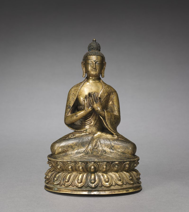 Bronze; overall: 18.6 cm (7 5/16 in.); base: 12.2 cm (4 13/16 in.). The Cleveland Museum of Art